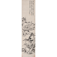Landscape (Dong Yuan and Juran Style)