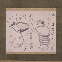 Kanzan and Jittoku