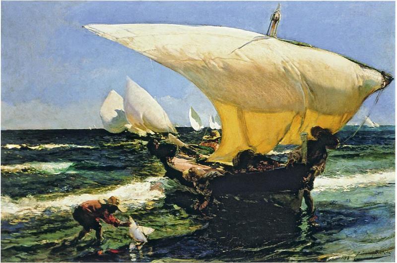 хоакин соролья ловля тунца
