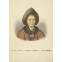 From portrait of Margaret Alekseevny
