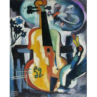 Composition with violin