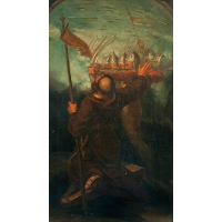 English War. The Spear (triptych, right panel)
