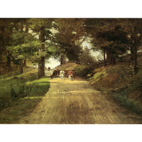 An Indiana Road