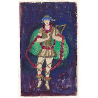 Costume design (Nijinsky) for artist's ballet