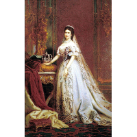 Queen Elisabeth of Hungary and Bohemia