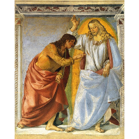 Christ and the Doubting Thomas