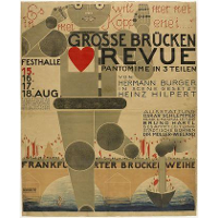 Poster for the Great Bridge Revue (Große Brücken Revue)