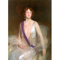 Portrait of Grace Elvina, Marchioness Curzon of Kedleston