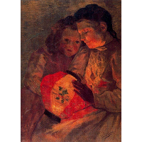 Children with the Lamp