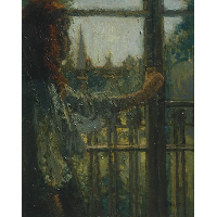 Girl at a Window, Little Rachel