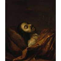 Peter I on his deathbed