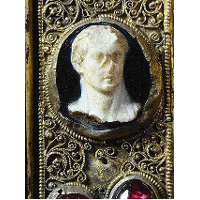 Gem with Head of a Ruler, 1st Cent. after Christ