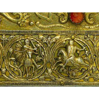 Hunting Frieze, Battle of Riders