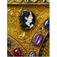 Cameo with Head of Ruler, 2nd Cent. before Christ