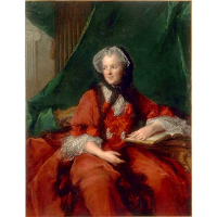 Marie Leszczyńska, Queen of France, Reading the Bible