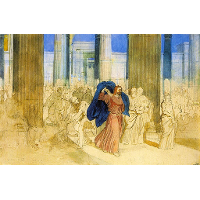 Expulsion of merchants from the temple